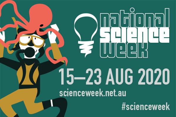 Image promoting National Science Week 2020