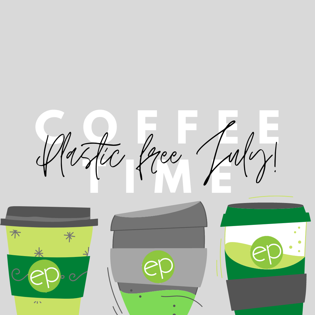 Plastic Free July Environmental Projects graphic