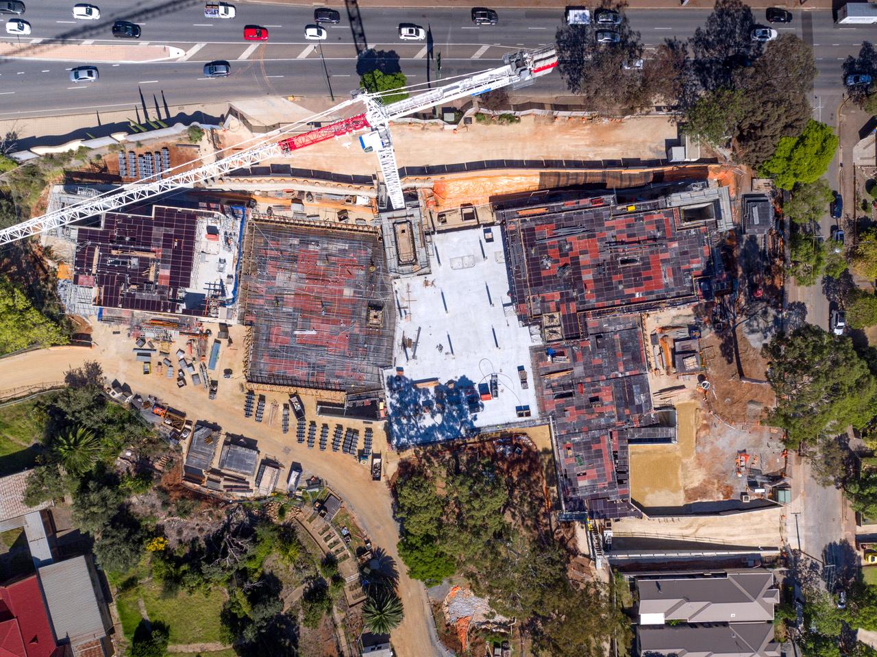 photo of SCC Carmelite site plan