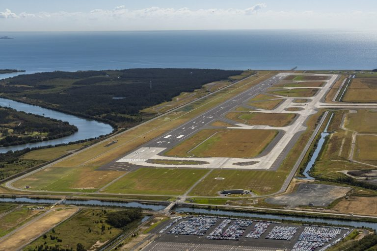 Brisbane's new runway
